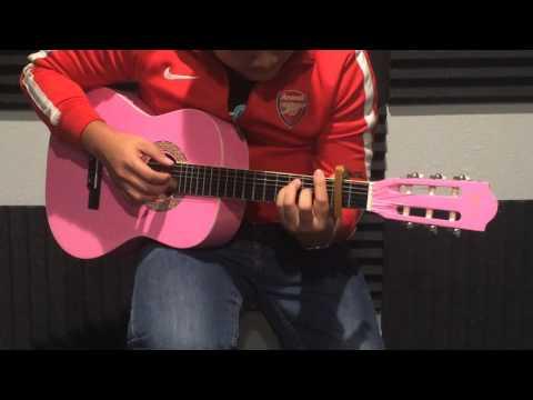 Odoca OCA-10 Pink Classical Acoustic Guitar Demo