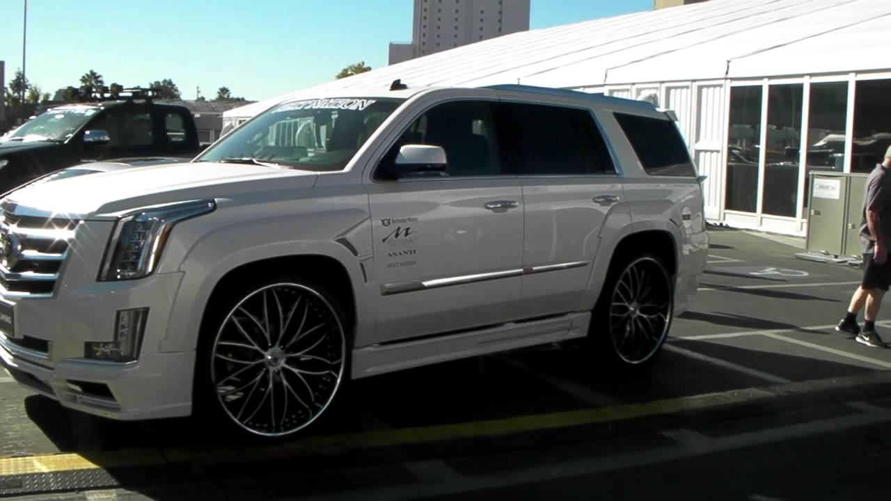 dubsandtires com 28 asanti custom wheels 2015 cadillac escalade hallandale miami ft lauderdale youtube [ 1280 x 720 Pixel ]