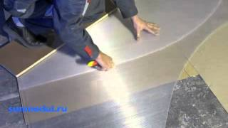 Раскрой сотового поликарбоната на фронтон теплицы(Данное видео показывает, как правильно разрезать 6 метровый лист сотового поликарбоната на фронтон теплицы..., 2012-03-12T16:43:52.000Z)
