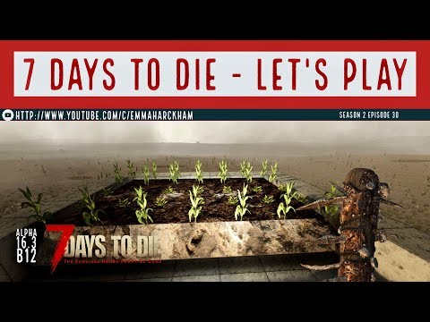 7 Days to Die A16 S2 Ep 30 Roof garden, chem station, and oil shale