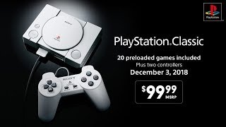 Sony PlayStation Classic - Mini Console Reveal Trailer