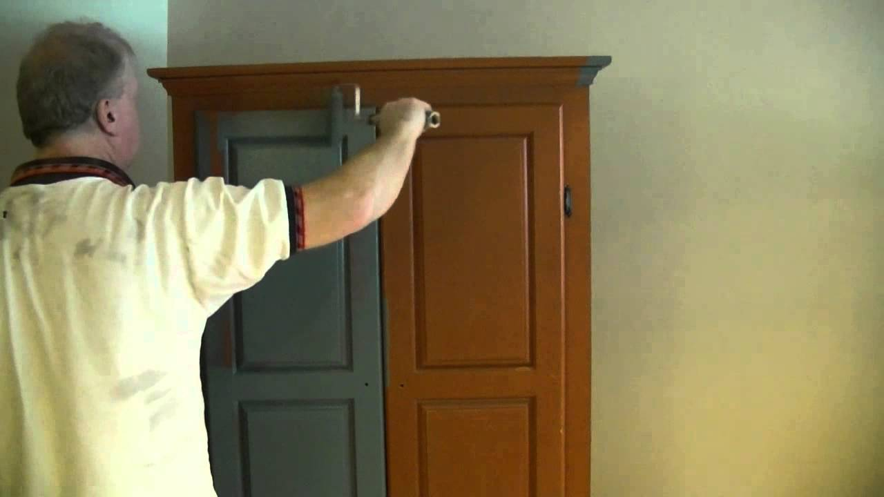 Charmant A Good Way To Paint A Wardrobe / Armoire   YouTube