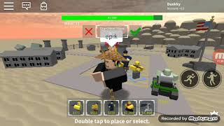 Trying to solo the Area 51 event! | Roblox Tower Battles