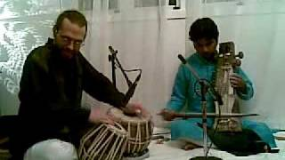 Indian classical - Sarangi, Tabla, Bansuri -Raga Charukeshi