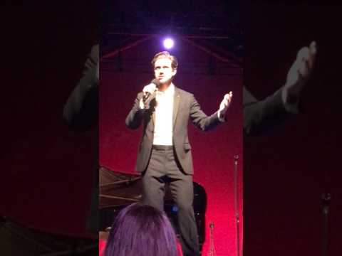 Aaron Tveit  Les Mis Medley 12217 at Wolf Trap