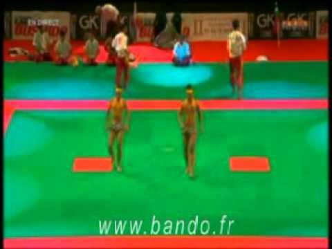Festival des arts martiaux Bercy, Thaing Bando 1ère partie : Birmanie  (Myanmar)
