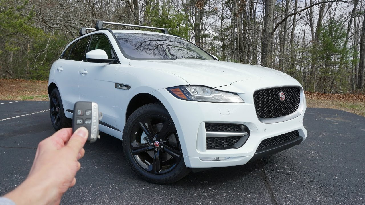 2017 jaguar f pace 35t r sport start up exhaust walkaround and review youtube. Black Bedroom Furniture Sets. Home Design Ideas