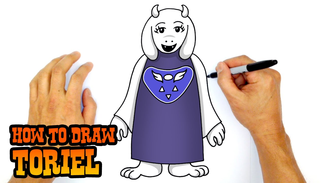 How to Draw Toriel Undertale YouTube