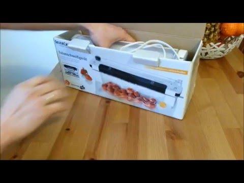 1 Tipps zu Vakuumiergerät Food Saver, Fleisch einschweißen Anleitung ...