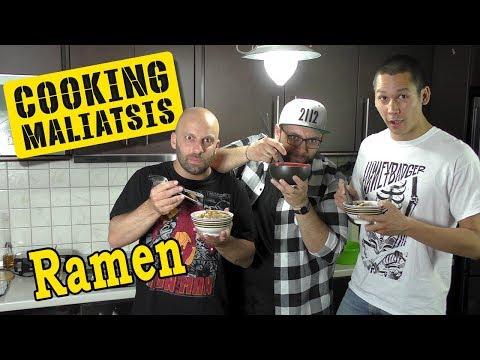 Cooking Maliatsis - 110 - Ramen ft. Σωτήρης Κοντιζάς