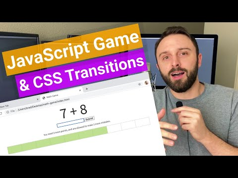 JavaScript Game: Interactive Questions With CSS Transitions & Animations