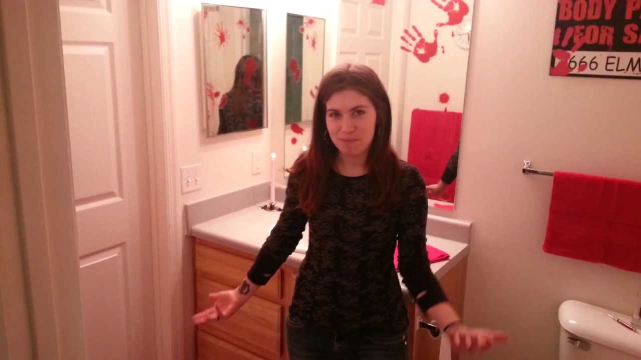 Bloody Bathroom Makeover Youtube