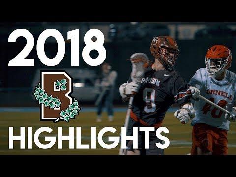 Brown Lacrosse 2018 Season
