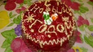 Торт Красный Бархат вкуснятина Рецепт приготовления