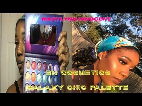 BH COSMETICS GALAXY CHIC PALETTE | EASY TUTORIAL! | Mary-Lynn Innocent