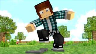 Minecraft : JAMAIS PISE NESSE BLOCO DO MINECRAFT !!