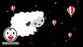 Baby Sensory Black White Red Animation Sleepy Time Sleepy Sheep Put Newborn To Sleep