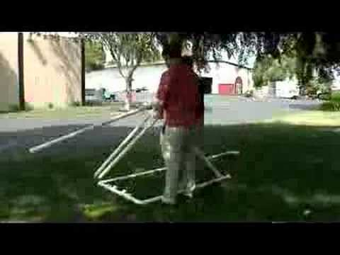 Make Your Own Catapult Out Of Pvc Piping Youtube