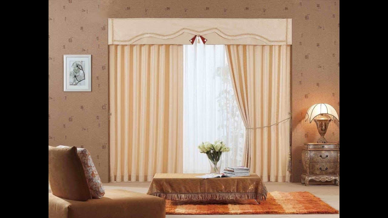 Dise o de interiores cortinas youtube for Decoracion de salas 2016