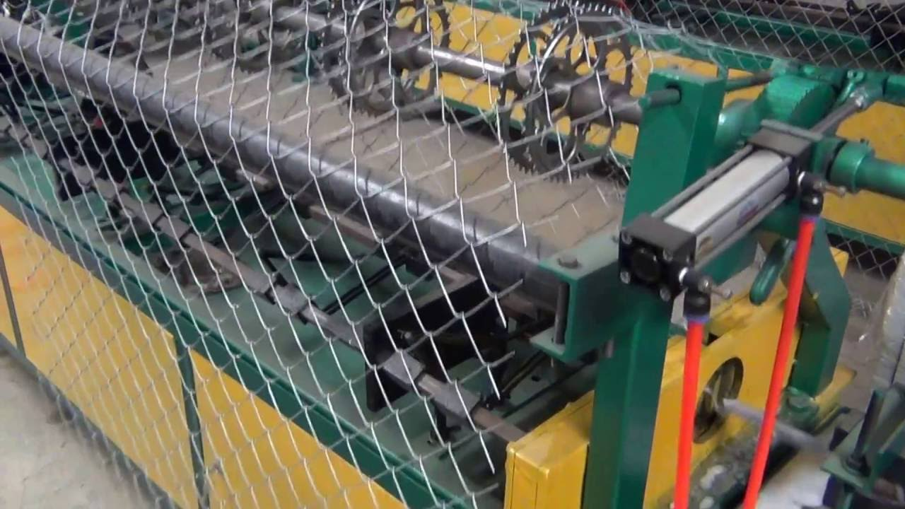 single wire fully automatic chain link fencing machine 2 VIRAL ...