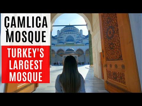 Turkey's Largest Mosque | Çamlıca Mosque & Çamlıca Hill