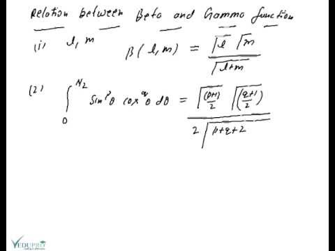 relationship between gamma and beta functions pdf free