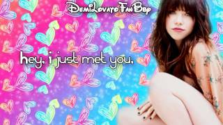 Carly Rae Jepsen - Call Me Maybe (Karaoke Lyrics On Screen)