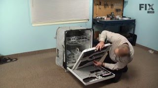 Maytag Dishwasher Repair How To Replace The Handle And Door Latch Youtube