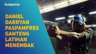Daniel Darryan Paspampres Ganteng Latihan Menembak
