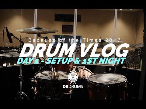 Drum Vlog #BOTT17 // Day 1 // Setup & 1st Service!