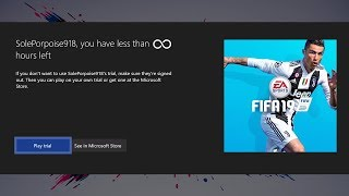Fifa 19, Ultimate Team, EA Access, Glitch, Unlimited Hours, Never R...