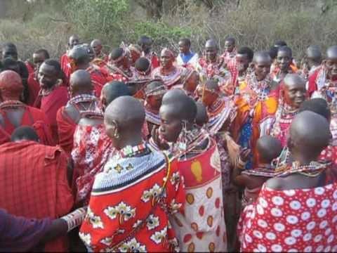 Maasai Wedding Ceremony 2010 Supukuu Enkiama