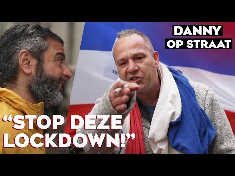 Waarom voeren mensen actie TEGEN de lockdown? | DANNY OP STRAAT #14