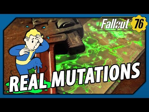 FALLOUT 76 - THIS is how MUTATIONS Should Work   REAL, Visual & Crazy!