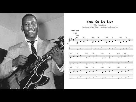 Wes Montgomery - Four On Six Live Transcription