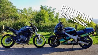 Buying a SPORTSBIKE! - Old VS New (Yamaha FZR600R)