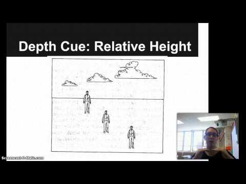 Depth Perception Relative Height