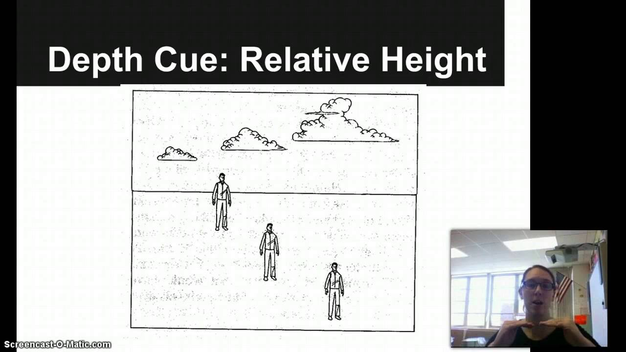 Depth Perception Relative Height - YouTube
