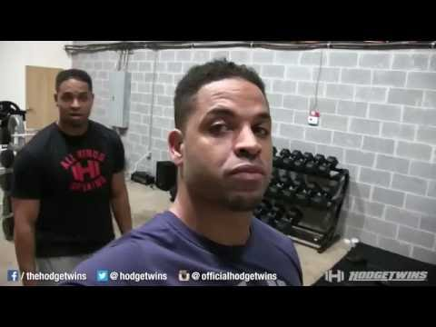Keith Trolling Kevin How to Warm Up Before Chest & Shoulder Workout @hodgetwins