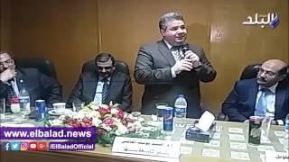 رئيس جامعة بنها يفتتح أعمال التطوير بأقسام المستشفى الجامعي.. فيديو وصور