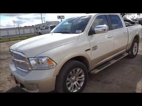 2016 (Dodge) Ram 1500 Lonhorn Ecodiesel Review