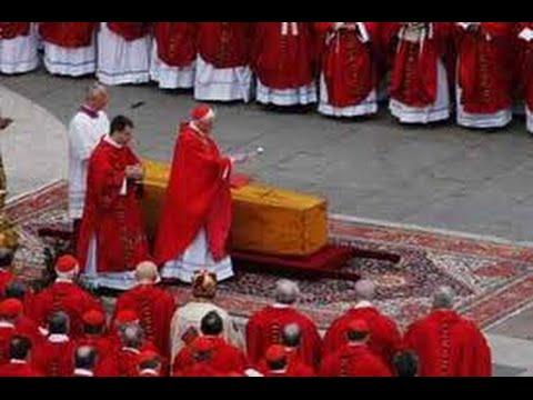 Funerali di Giovanni Paolo. La straordinaria omelia del card. Joseph Ratzinger