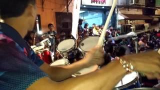 Lalbaug Beats playing jai Bhavani jai Shivaji at malad west..2016