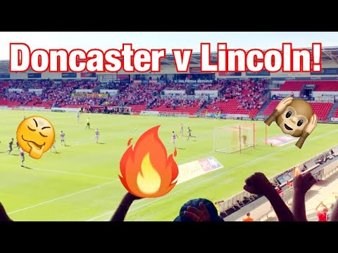 DONCASTER ROVERS VS LINCOLN CITY