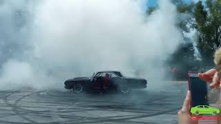1964 Plymouth Sport Fury burnout