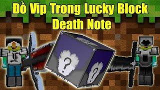Thử Thách Noob Tìm Đồ Vip Trong Lucky Block Death Note ** Đồ Vip Nhất Lucky Block Death Note