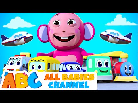 Vehicles Song | 3D Original Song | Learn Vehicles For Kids |