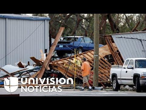 El reto tras el huracán: así intentan recuperarse los damnificados de Michael
