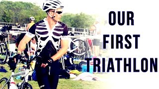 Pensacola held their inaugural triathlon, which we thought was a gr...
