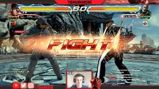 TEKKEN 7 | Trying Out Marshall Law